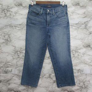 NYDJ Marilyn Crop Denim Jeans Lift Tuck Technology